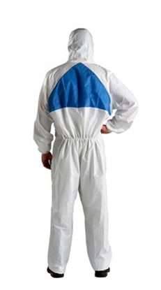 Picture of 3M 4540+ PROTECTIVE COVERALL LARGE WHITE